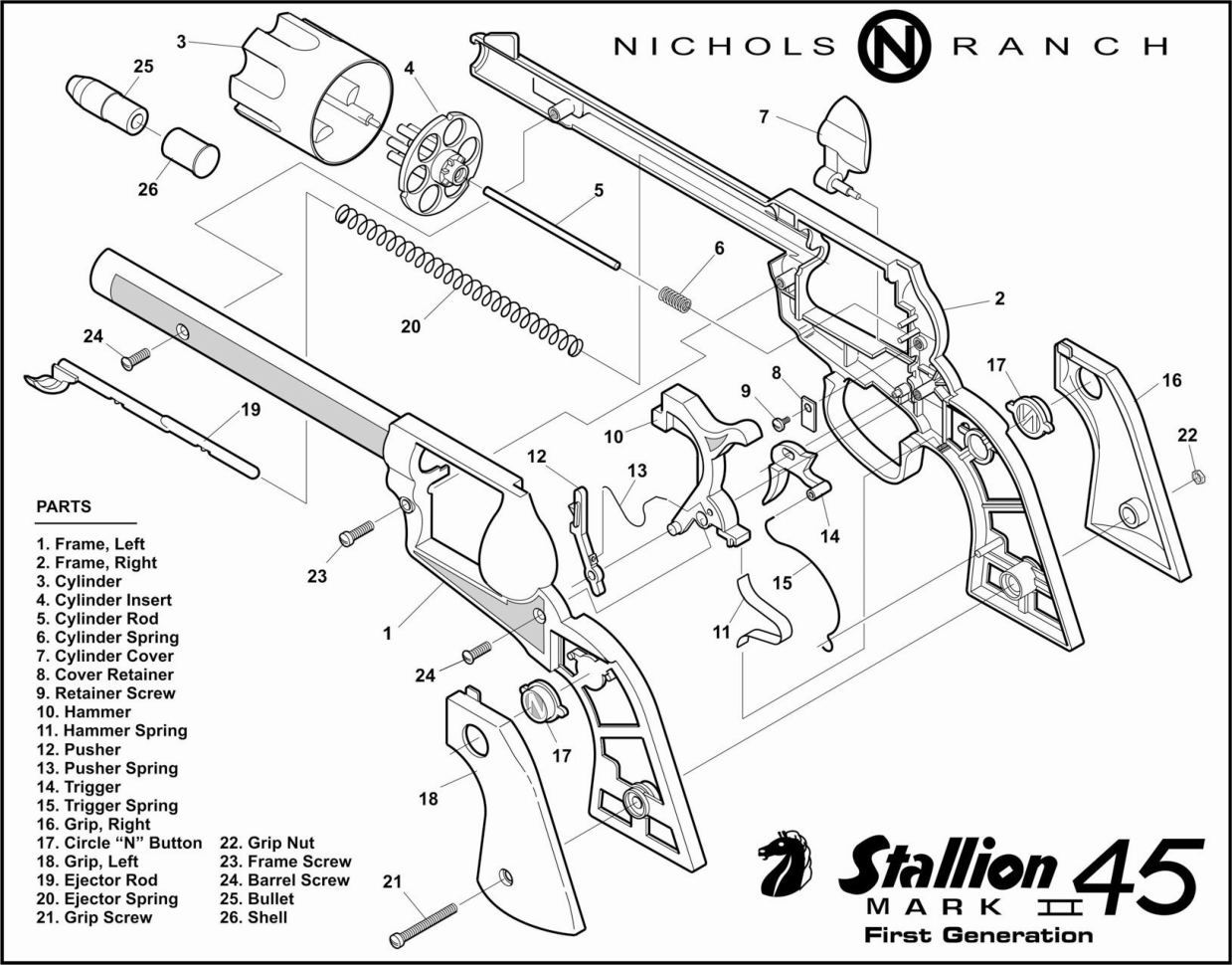 needle gun schematics  needle  free engine image for user