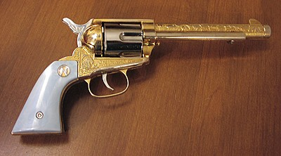 Nichols Industries Inc Stallion 45 Mk Ii Gold Plated