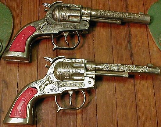 Roy Rogers And Dale Evans Toy Cap Guns Across The Years