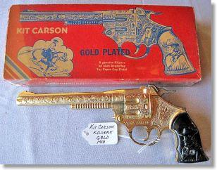 Antique Vintage Toy Cap Guns from Kilgore Cap Guns