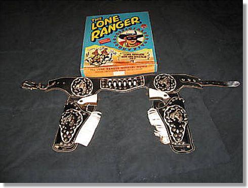 The Lone Ranger And Tonto Toy Cap Gun Scrapbook