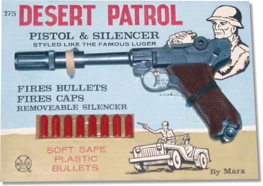Marx Toy Cap Guns